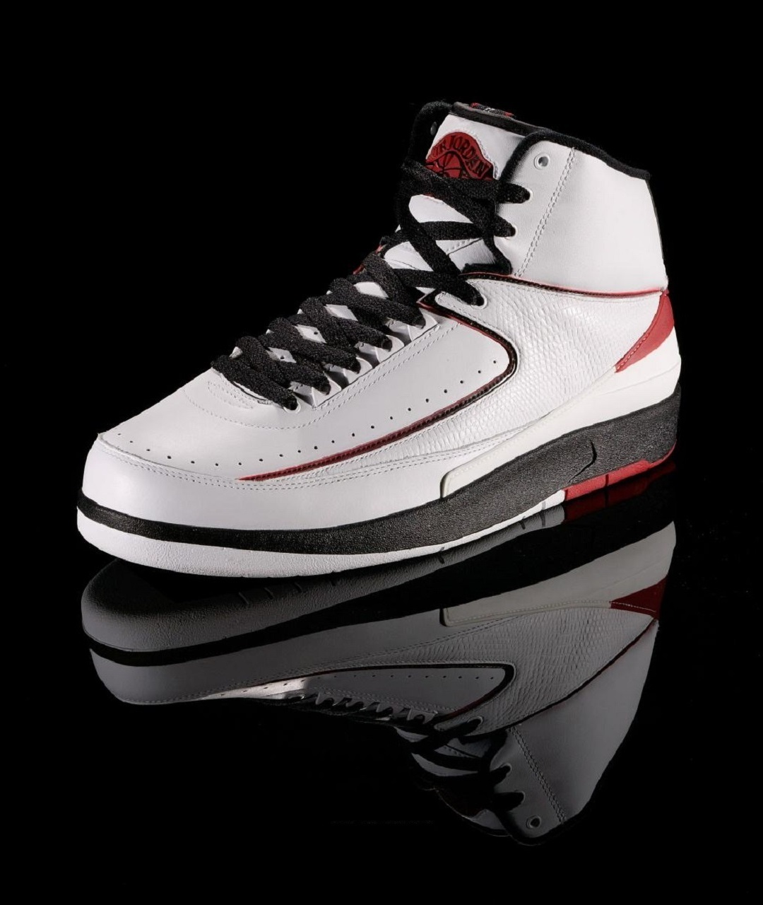322668a3bd3 The popularity of the shoe's namesake, Michael Jordan, already had begun  outgrowing his home country, and Nike went to Italy to produce the Air  Jordan II.